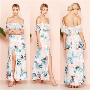 Lovers and friends Floral Maxi Dress XS